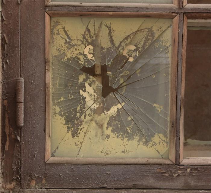 Tand des tijds - raam