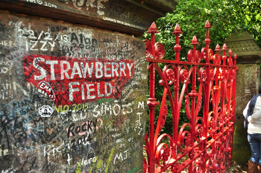 Strawberry field - Liverpool