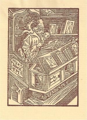 Ex libris - het narrenschip