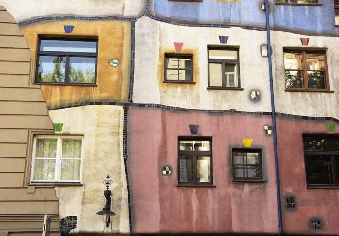 Hundertwasserhuis, Wenen